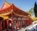 Wen Wu Temple Interior Stock Photography - 53054442