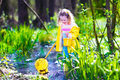 Little Girl Catching A Frog Royalty Free Stock Photos - 53065048