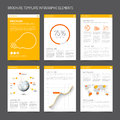 Set Of Modern Brochure Flyer Design Templates Royalty Free Stock Photography - 53067327