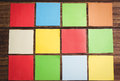 Some Colorful Sticky Post Its Royalty Free Stock Image - 53074236