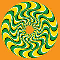 Hypnotic Swirly Sphere Royalty Free Stock Images - 53077669