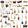 Music Instruments Royalty Free Stock Photos - 53093968