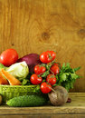 Various Vegetables (carrots, Potatoes, Cabbage, Tomatoes) Royalty Free Stock Photography - 53100347