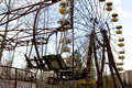 Ferris Wheel In Pripyat Ghost Town, Chernobyl Royalty Free Stock Images - 53111649