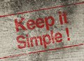 Keep It Simple Stock Images - 53150854