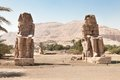 The Colossi Of Memnon Giant Statues Stock Image - 53162341