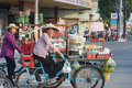 Vietnamese Street Food Cooks Stock Photo - 53184260
