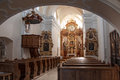 The Interior Of The Church In Litovel Stock Photography - 53205192