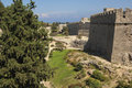 RHODES/GREECE City Walls Of Rhodes Old Town Stock Photography - 53214072