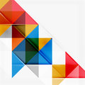 Abstract Geometric Background. Modern Overlapping Stock Images - 53219104