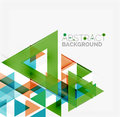 Abstract Geometric Background. Modern Overlapping Royalty Free Stock Images - 53219749