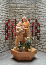 Holy Family Statue Stock Images - 53244394