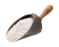 Flour In A Antique Metal Scoop Royalty Free Stock Image - 53247396