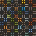 Pattern Colorful Elements On A Black Background. Royalty Free Stock Photography - 53296837