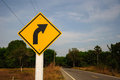 Right Turn Sign Stock Images - 53298384