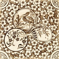 Oriental Style Tile Royalty Free Stock Photography - 5332407