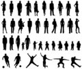 People Silhouettes Royalty Free Stock Photography - 5336397