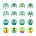 Avatars Of Doctors And Patients For Medical Forum Royalty Free Stock Images - 53301579