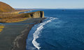 Pacific Coast With Black Volcanic Sand On The Beach. Kamchatka Royalty Free Stock Photography - 53329887