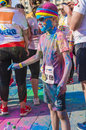 The Color Run Bucharest Royalty Free Stock Photo - 53337385
