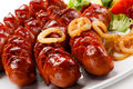 Grilled Sausages Stock Images - 53339144