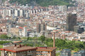 Aerial Views Of City Center Bilbao, Bizkaia, Basque Country, Spa Royalty Free Stock Images - 53354759