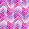 Navajo Aztec Textile Inspiration Watercolor Pattern. Native Amer Royalty Free Stock Photo - 53360955