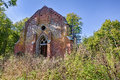 Forgotten Chapel In The Forest Royalty Free Stock Image - 53371436