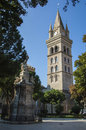 Bell Tower And Astronmical Clock In Messina Stock Image - 53374221