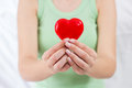 Red Heart Shape Health Love Support Royalty Free Stock Photography - 53396667