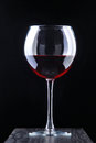 Red Vine In The Glass Royalty Free Stock Photo - 53399235