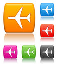 Airplane Icons Royalty Free Stock Photo - 5346365