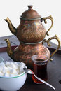 Turkish Tea  Royalty Free Stock Images - 5349179