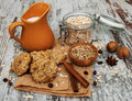 Oatmeal Cookies Royalty Free Stock Photography - 53441227