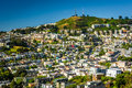 View From Corona Heights Park, In San Francisco  Stock Images - 53450444