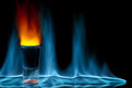 Shot On Fire Stock Images - 53470364