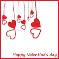 Card By A St. Valentine&x27;s Day. Royalty Free Stock Image - 53479156