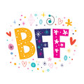 BFF - Best Friends Forever Royalty Free Stock Photos - 53484538
