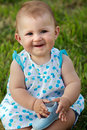 Little Baby Girl Royalty Free Stock Photography - 5354567