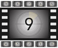 Old Film Countdown Royalty Free Stock Image - 53502286