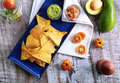 Mexican Chips And Salsa Stock Photo - 53504040