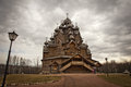 Wooden Church In Russia Stock Images - 53509154