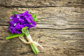 Bouquet Of Violets Royalty Free Stock Image - 53510316