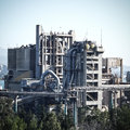 Cement Factory Royalty Free Stock Photos - 53512098