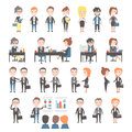 Group Of Business And Office People Royalty Free Stock Images - 53522099