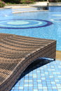 Chairs By The Pool Stock Images - 53527474