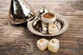 Turkish Coffee And Delights Stock Photo - 53549650
