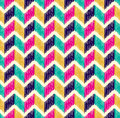 Seamless Herringbone Tiles Colorful Pattern Royalty Free Stock Photos - 53567468