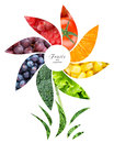 Fresh Fruits And Vegetables Royalty Free Stock Image - 53591266