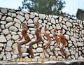 Chandigarh, India - January 4, 2015: Rock Statues At The Rock Garden In Chandigarh, India. Royalty Free Stock Image - 53596876